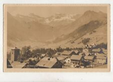 Adelboden Wildstrubel Switzerland 1925 RP Postcard 334b
