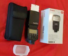 Canon Speedlite 580Ex Ii Shoe Mount Flash for Canon 5D Mark Ii Camera