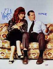 Ed O'Neill Katey Sagal Dual Signed Married With Children 11x14 Photo PSA Auto B