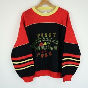 Vintage 90's 80's Graphic Logo sweatshirt Retro SZ Medium-large (E9742)