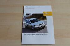 80295) Opel Astra 1.6 CNG Prospekt 07/2003
