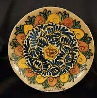 Talavera Pottery Mexico Ruth 7.5 Plate or Wall Pottery Hand Made