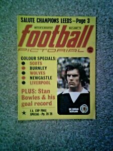 Football Pictorial Magazine May June Issue1974