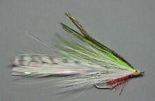 Chartreuse Lefty's Deceiver  - Size 2 - Saltwater Fly Fishing
