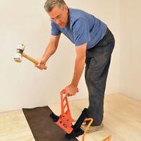 2 In 1 Dual Handle Pneumatic Hardwood Flooring Nailer Stapler Tool With Hammer