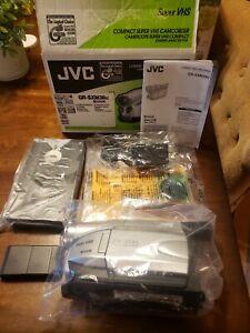 NEW JVC GR-SXM38U COMPACT VHS SUPER VHSC CAMCORDER