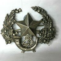 WW1 Cameronians Scottish Rifles Regiment Cap Badge Original Egyptian sandcast