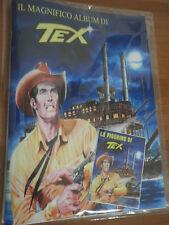 Il magnifico Album figurine TEX inedito con Set completo di figurine