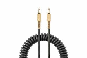 Spring Audio Cable 3.5mm Audio Jack Compatible with Marshall Woburn speakers