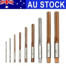 AU 9X H8 3mm-16mm Straight Shank Hand Reamer Tool Engineering Parallel Fulte Set