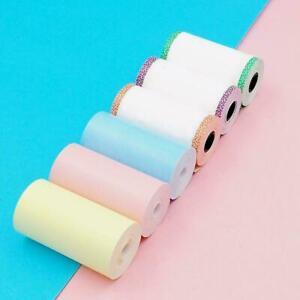 5 Rolls 57*30mm Printer Sticker Paper A6 PeriPage Pocket Paper Direct T1Y5 Sale