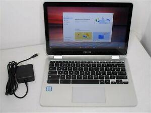 """Asus Chromebook C302C Flip 12.5"""" TouchScreen M7-6Y75 1.2Ghz 16GB 64GB Wi-Fi BT"""