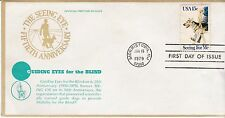 First day cover, Scott #1787, Seeing Eye Dogs, Guiding Eyes cachet, 1979