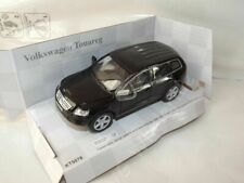 "Volkswagen Touareg Black Die Cast Metal Model Car 5""  New In Box"