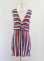 Rachel Zoe for A Pea in the Pod Striped Maternity Tunic Top / Mini Dress Size M