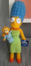 Universal Studios Marge Simpson with Baby Maggie Plush Doll New with Tag