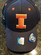 Illinois Illini NCAA NEW Adjustable Cap Hat NAVY embroidered Letter I