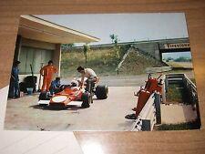 Ferrari 312B2 . pista di Fiorano (Fiorano Circuit) 70's Postcard