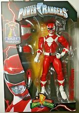 Mighty Morphin Power Rangers Legacy Red Ranger Figure Build a Megazord -in Stock
