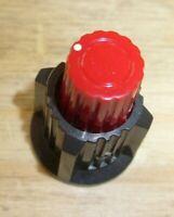 2 PCs Tektronix Control Knob Red 400  Oscilloscope PLEASE READ! set 453