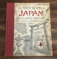 The First Book of Japan by Helen Mears (1959, Vintage Hardcover, Illustrated)