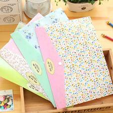 2pcs A4 PVC Bag Document Paper School Office Supplies File Folder Bag Stationery