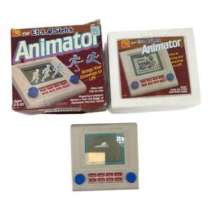 Vintage 1986 Etch a Sketch Animator WORKS Original Box Instructions & Styrofoam