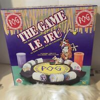 POG Board Game, Tray, Pad, 4 Slammers 100 Pogs And 2 Containers.