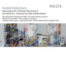 "RUDOLF KELTERBORN ""HOMMAGE A FD/CHAMBER SYMPHONY 3/ICH HÖRE MICH/ ..."" CD NEU"