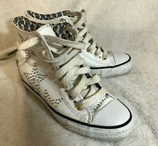 Daddys Money Secret Wedge High Top Shoes Trainers UK5 EU38 White