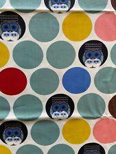 Organic Cotton Fabric Charley Harper Nurture Per Half Metre