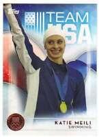 2016 Topps US Olympic Team USA Bronze #69 Katie Meili  Swimming