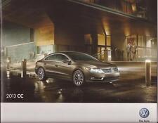 2013 13  VW CC oiginal Sales brochure MINT