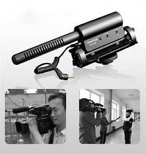 SGC-598 PRO Shotgun Interview DV Stereo MIC Microphone for Canon Nikon Pentax