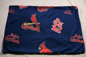 Vintage St. Louis Cardinals Pillow Case MLB Baseball Pillowcase Bedding