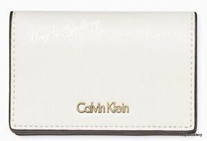 Calvin Klein Handbag Coin ID  wallet  Credit Purse business CK Card Case holder
