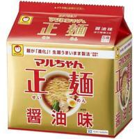 Maruchan Seimen  Instant Ramen Noodles Soy Sauce Flavor 5meals Japan