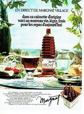 Publicité Advertising 067  1971  le nouveau vin Margnat  caissette origine