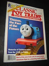CLASSIC TOY TRAINS- December, 1995- Lionel & American Flyer Thomas the Train
