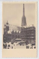 AK Wien I, Stephansplatz, Stephansdom, um 1930