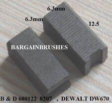 KOHLEBÜRSTEN DEWALT 930760-00 DW670 5417,BD11,BD5,BD779,BD780,DN11 6x6x12mm-A3