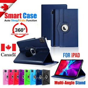 Leather 360 Rotating Smart Case Cover Apple iPad 8th 7th Generation 10.2 2019/20