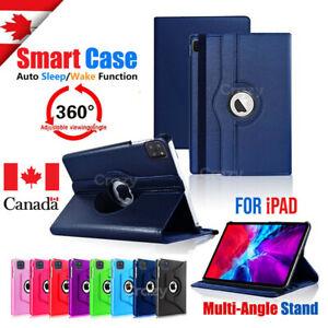 iPad Case Rotating Cover For iPad 2 3 4 5 6 7 8 12.9 10.2 iPad Pro Air 3 1 Mini