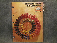 1979 ACME Automotive Finishes Color Manual Guide Chrysler Ford Dodge Jeep GM