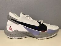 "Nike Zoom Freak 2 ""White Cement""-Size 11.5- Excellent Cond.-CK5424-100-Giannis"