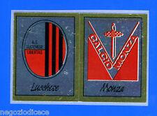 CALCIATORI PANINI 1987-88 - Figurina-Sticker n. 488 - LUCCH#MONZA SCUDETTO -Rec