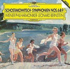 Shostakovich / Berns - Shostakovich: Symphonies 6 & 9 [New CD] Japan