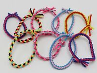 30 Multi-Color Elastic Braided Ruber Hair Tie Hair Rope Bands Ponytail Holder