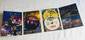 WRESTLEMANIA 2018 WWE WWF Wrestling 3 Disc DVD BOXSET R4 Free Post U