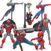 Homecoming Spiderman PVC Action Figure Collectible Model Toy Spider Man & Others